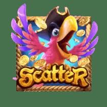 สัญลักษณ์ Scatter Captains Bounty