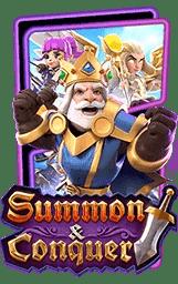 ทดลองเล่นเกมสล็อตออนไลน์ summon conquer